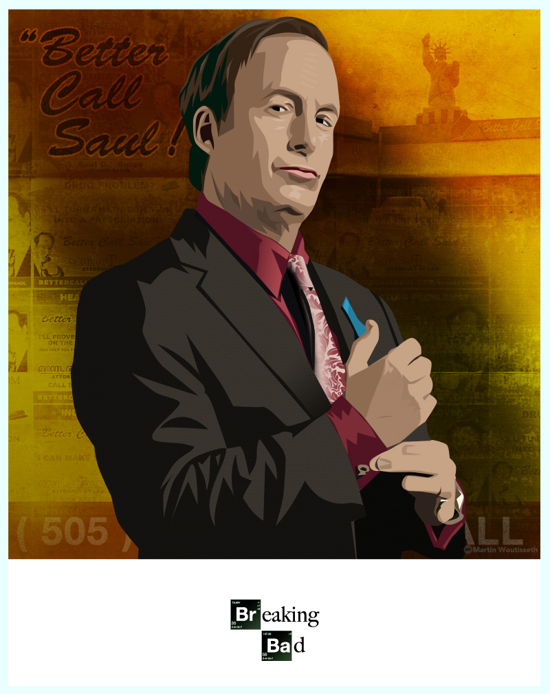 breaking bad character art (4)
