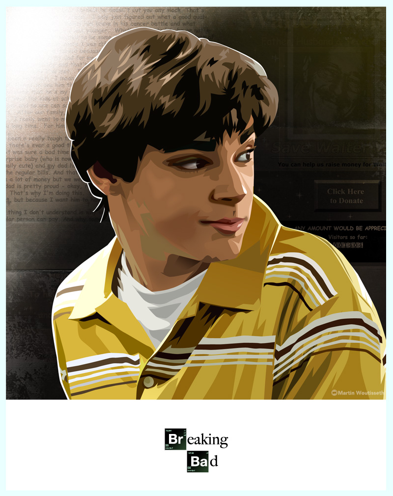 breaking bad character art (1)