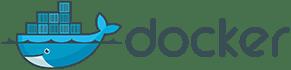 Logotipo do Docker, que será usado em parceria com o Docker Compose