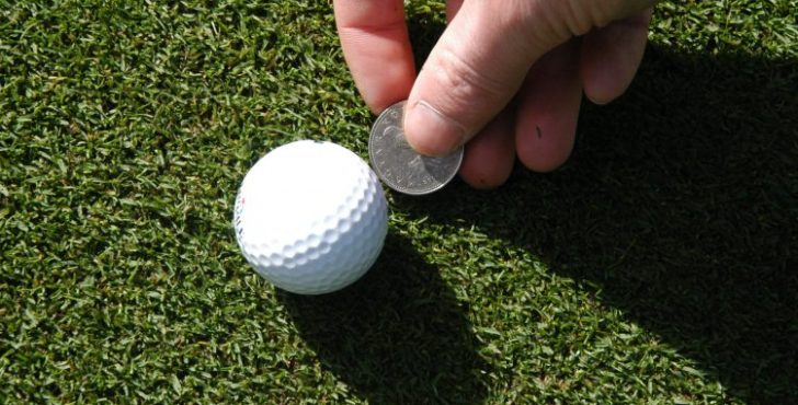 Marking your golf ball is not as simple as you may think
