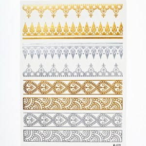 Flash Tattoos - Indian Filligree