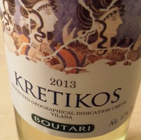 Wine Review: 2013 Kretikos White Boutari