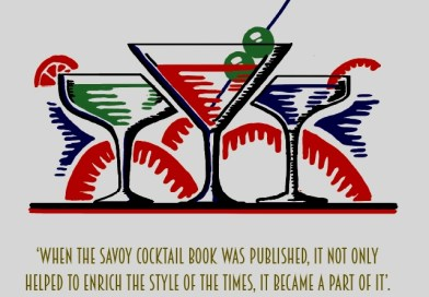 The Savoy Cocktail Book: An Infographic