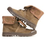 Palladium Pallabrouse Baggy Suede Brown Boot
