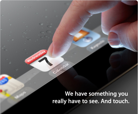 Apple iPad 3 Invite