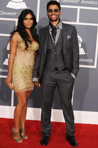 Eric Benet Grammys 2012 Red Carpet