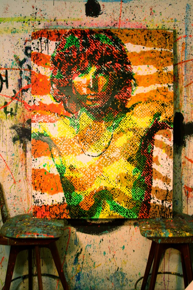 Kelcey Fisher Jim Morrison Art