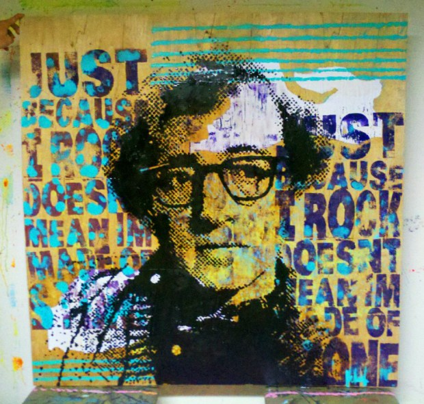 Kelcey Fisher Woody Allen Artwork