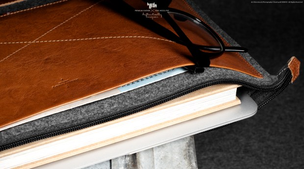Hard Graft Grab Laptop Heritage Sleeve Folio