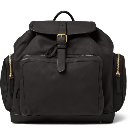 Pierre Hardy Nubuck Leather Backpack