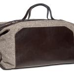 Suitsupply Light Brown Weekender Bag