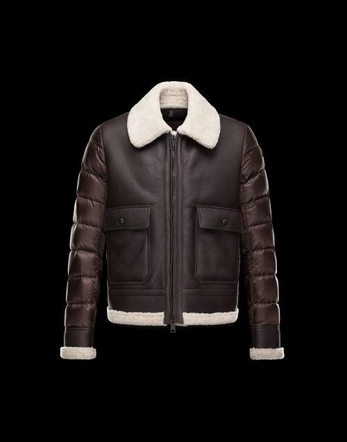 Moncler Templon Sheepskin Jacket