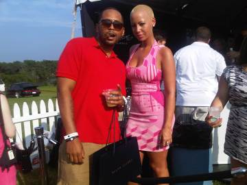 Amber Rose At Bridgehampton Polo