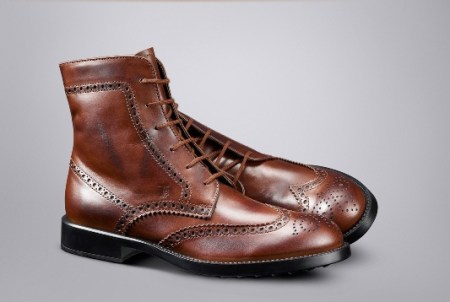 Tod's Brown Leather Boots