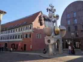Schloss, Pferdeturm, Visconti-Haus