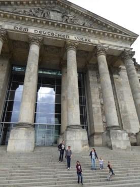 Reichstag Eingang