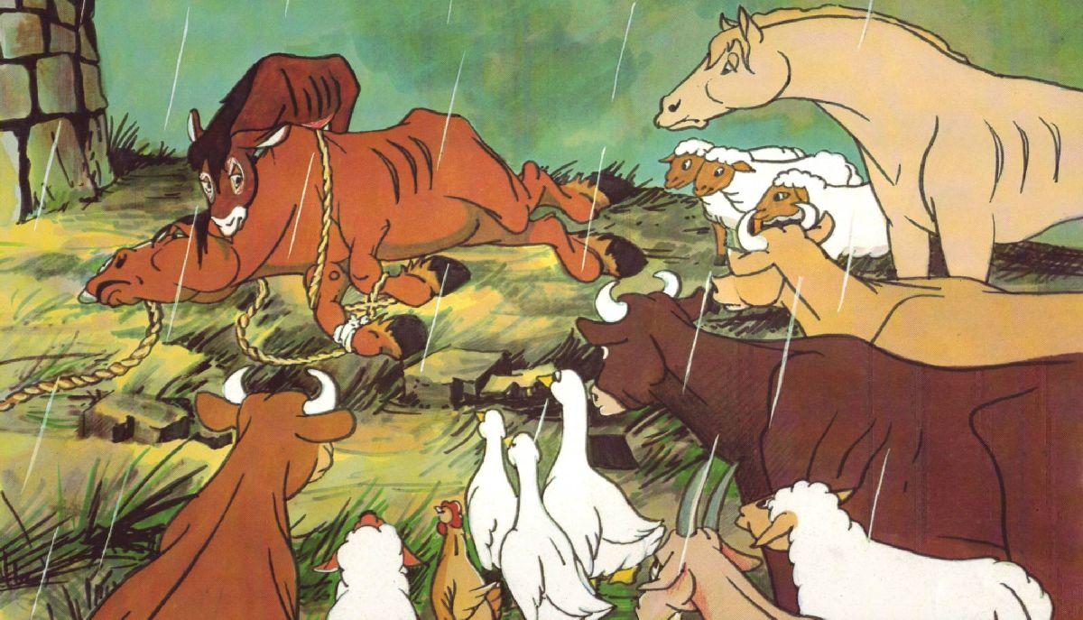 Animal Farm 1954 Poster 4 Animal Farm 1954