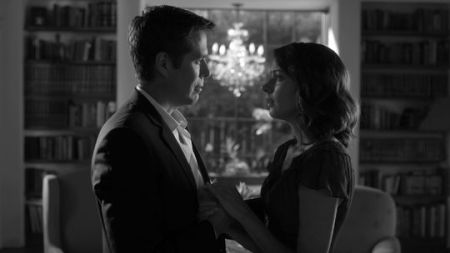 Alexi Denisof and Amy Acker in Much Ado About Nothing (2013)