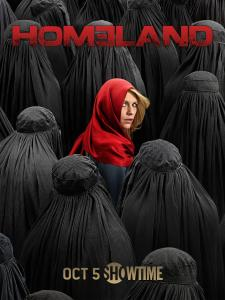 """The poster for season 4 of """"Homeland."""" (Showtime)"""