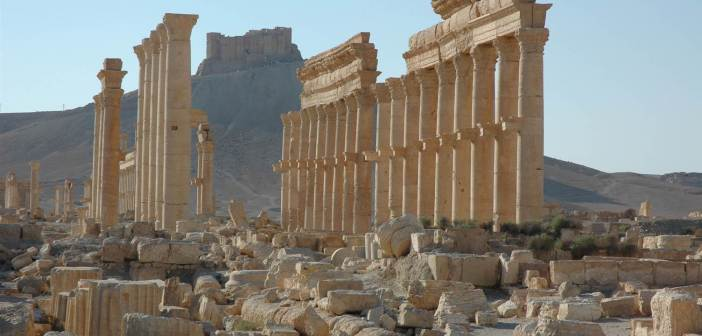 The ancient city of Palmyra  was recaptured from ISIS by Syrian forces Sunday. (Associated Press Photo)