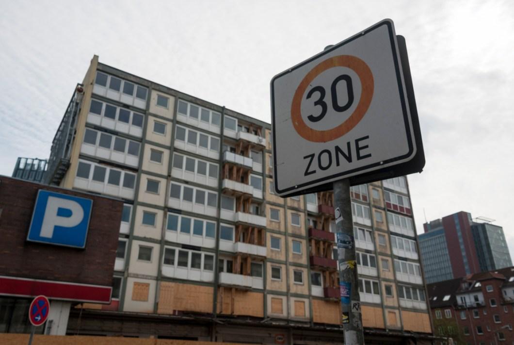 Hamburg St Pauli Tour 30 Sign