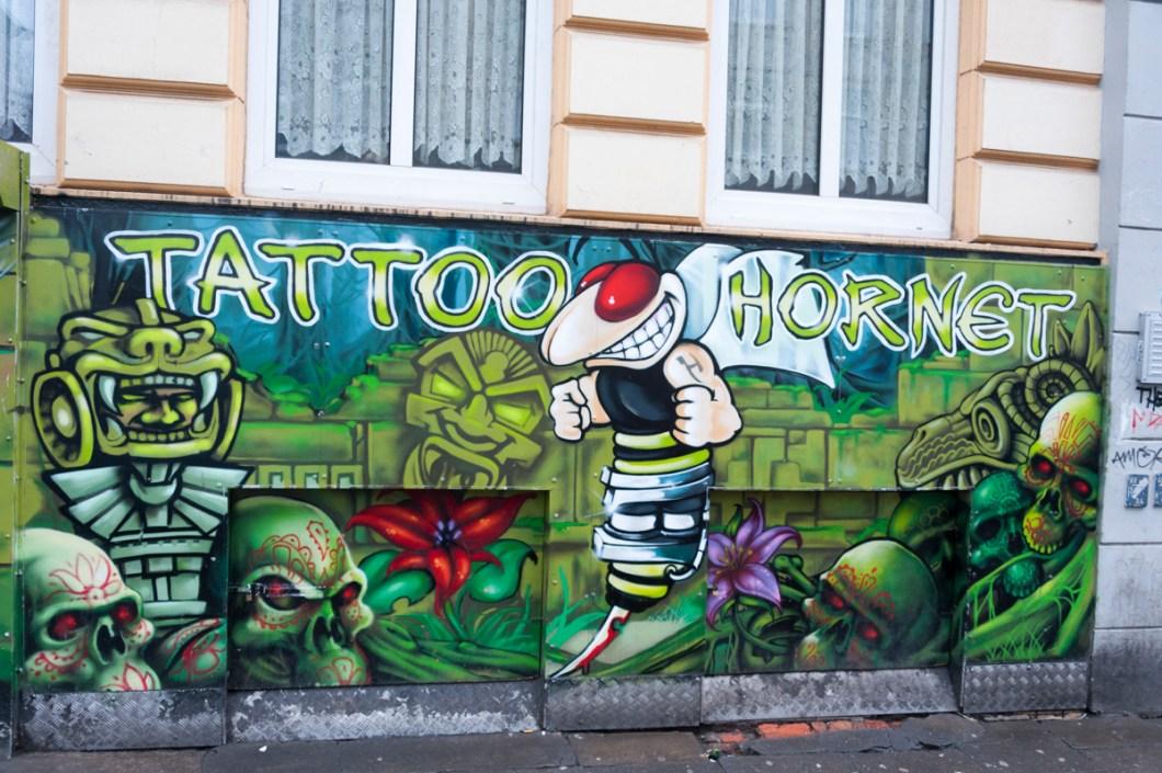 Hamburg St Pauli Tour Tattoo Hornet