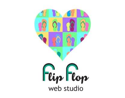 flipflop heart