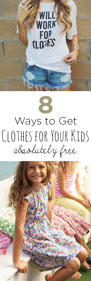 Get clothes free, free clothing, shopping hacks save money, free items, popular pin, free clothes for kids.