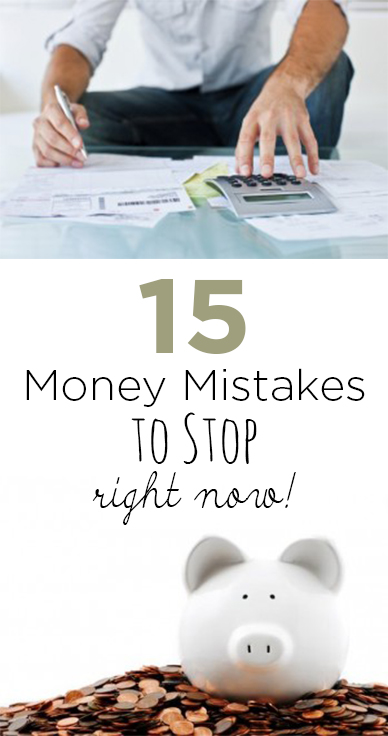 Money mistakes, money tips, money hacks, credit card tips, popular pin, save money, grow your money, money management.