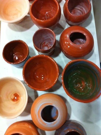 Pots  -2014-12-01 - Tour à pied - Terre cuite