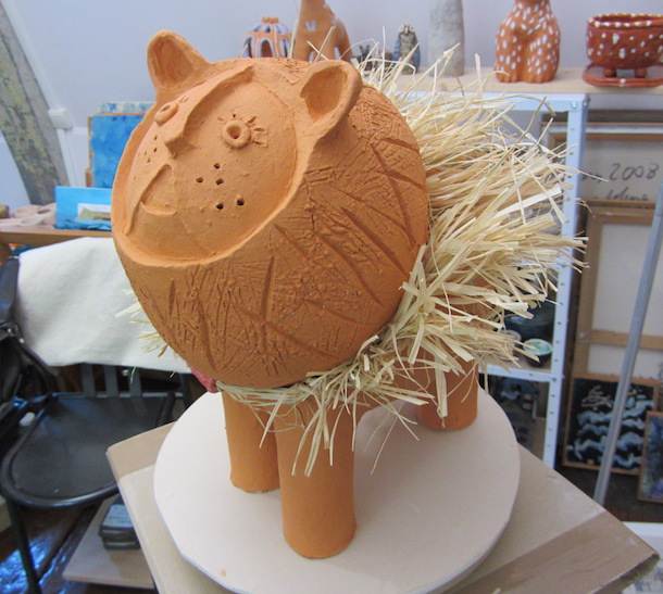 Lion - Criniere - Poterie - Animal - Animaux