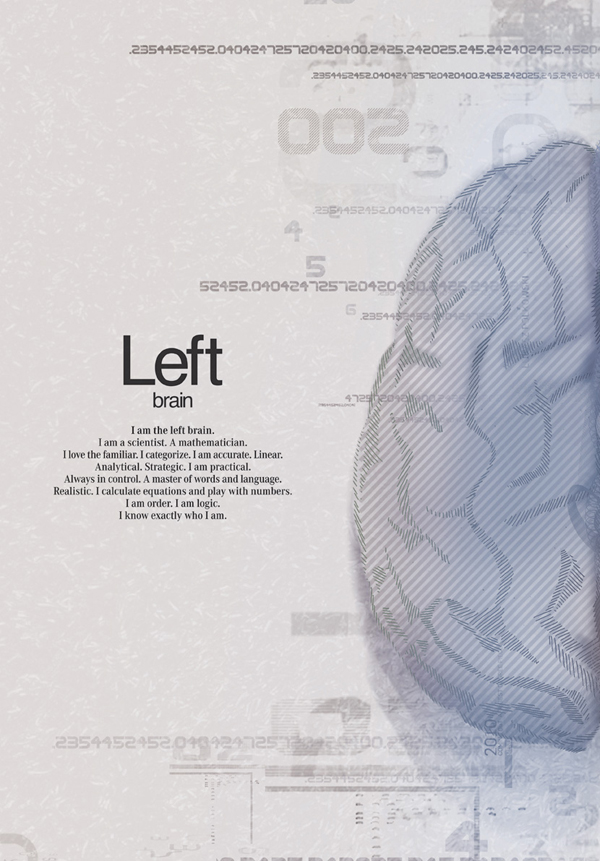 Mercedes Benz – Left Brain vs. Right Brain Advertising