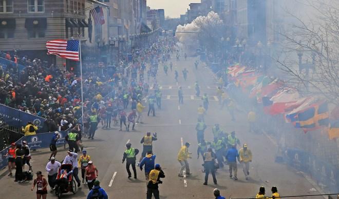 波士頓馬拉松爆炸