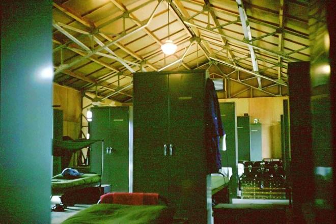 1960 年代台中清泉崗機場美軍宿舍