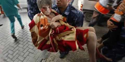 巴勒斯坦男孩