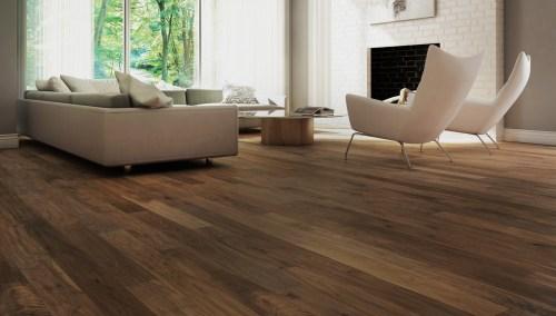 Medium Of Walnut Hardwood Flooring