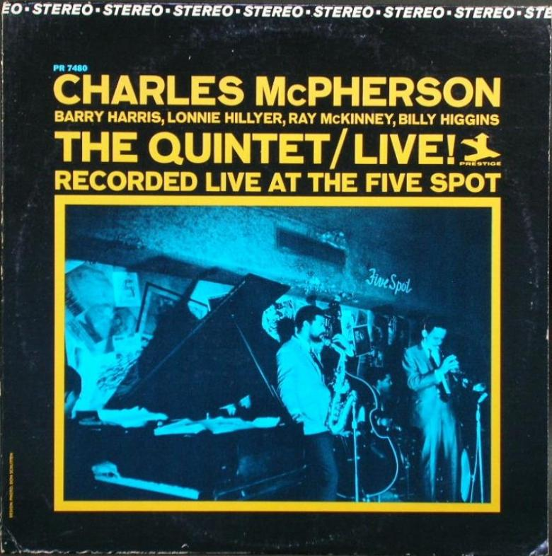 Charles McPherson - The Quintet/Live!