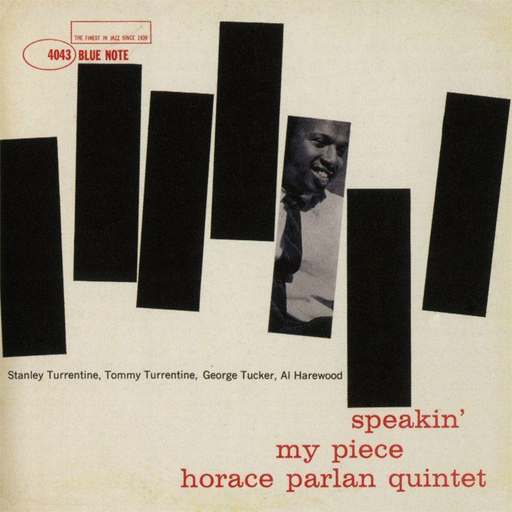 Horace Parlan Quintet - Speakin' My Piece