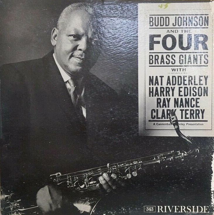 Budd Johnson - Four Brass Giants