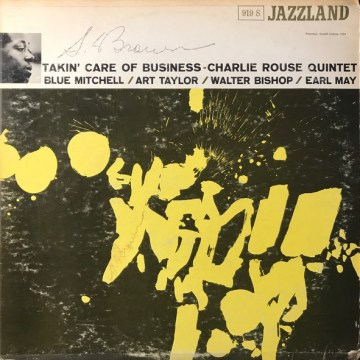Charlie Rouse - Takin' Care Of Business