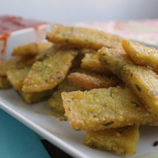 "Rosemary Polenta ""Fries"""