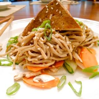 Peanutty Soba Noodle Salad