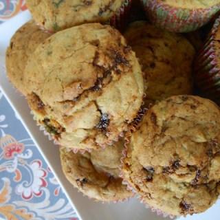 Fig, Basil & Onion Muffins