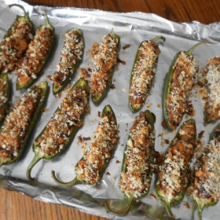 Super Stuffed Jalapeno Poppers