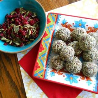 Cranberry Pepita Trail Mix + Breakfast Truffles