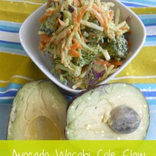 Avocado Wasabi Cole Slaw