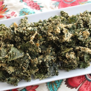 (Raw) Ranch Kale Chips