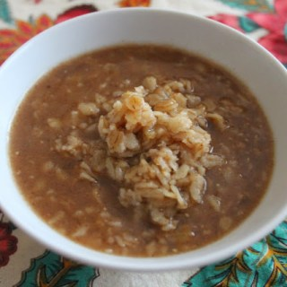 Sweet Apple Cider Oatmeal