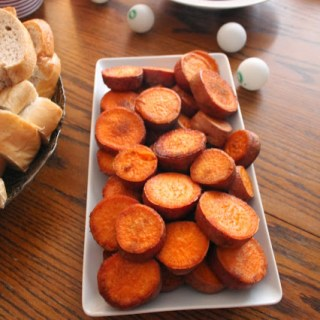 Brown Sugar & Spice Roasted Sweet Potatoes