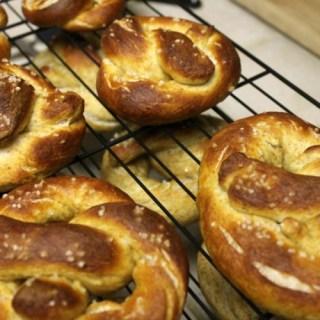 Homemade Vegan Soft Pretzels | Take 2